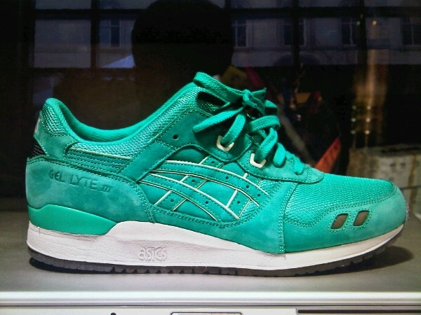 Ronnie Fieg x Asics Gel Lyte III Mint | In Search Of..